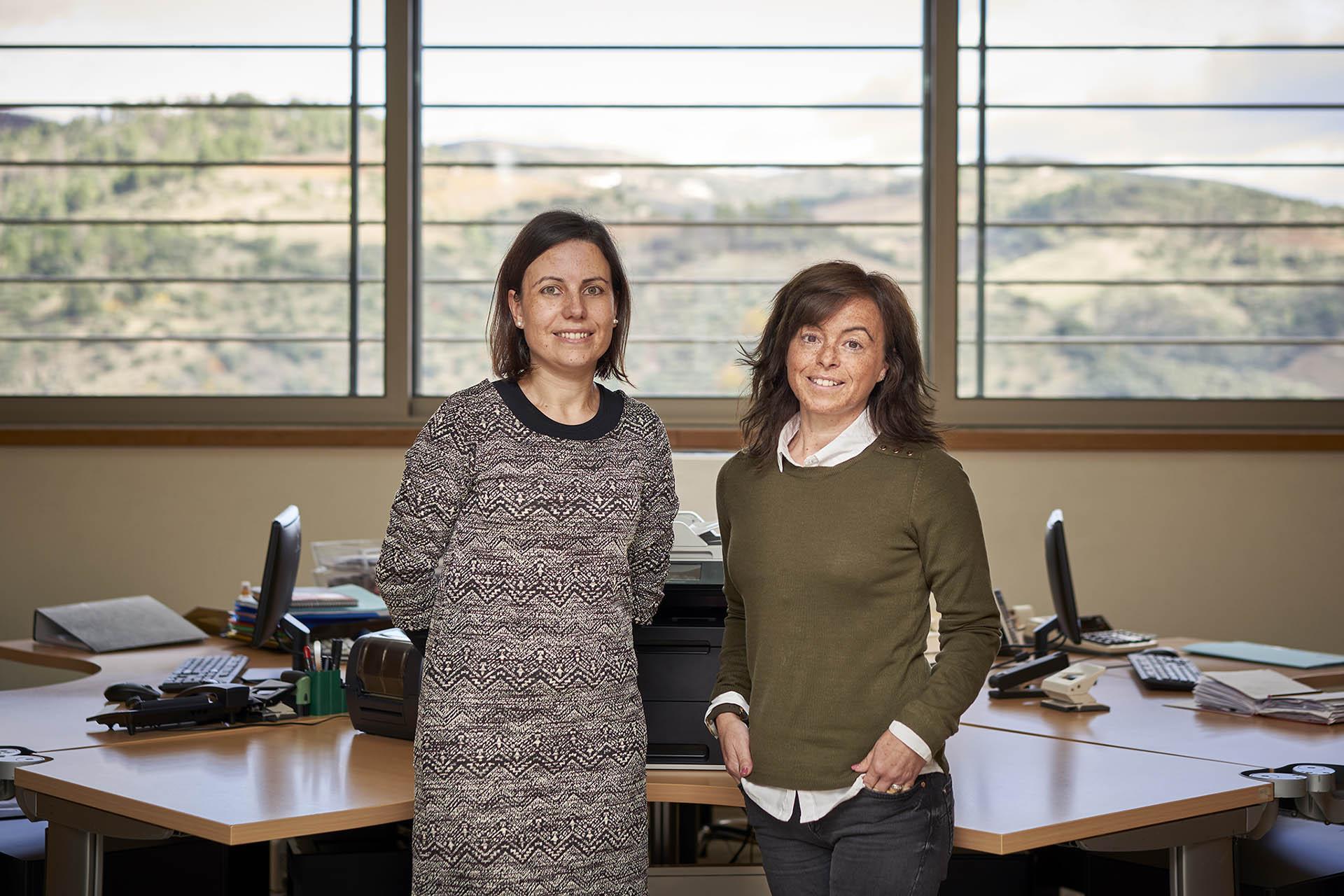 Dina Oliveira and Estrela Araújo